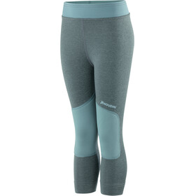 Houdini Kids Alpha Long Johns Storm Green